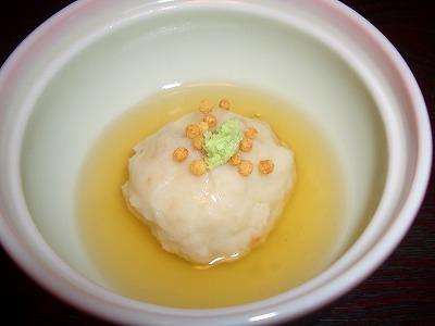 権現山荘レンコン饅頭