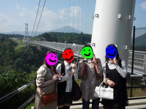 夢吊大橋に・・ついたどぉーヽ(゚∀゚)ノ