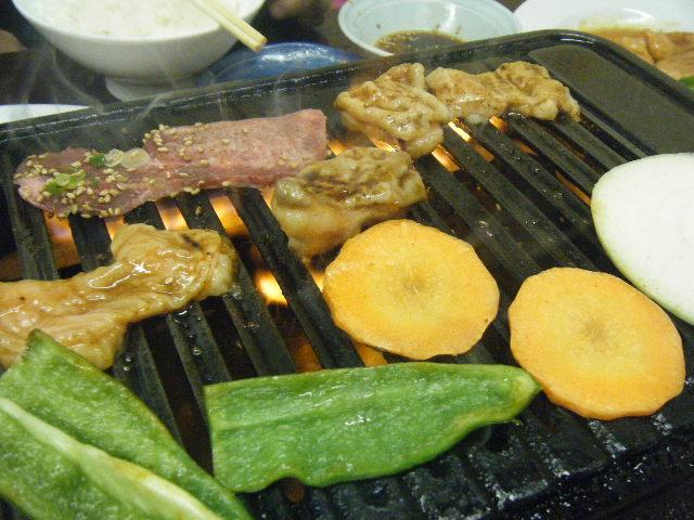 2011_0111近所で焼肉 かぼちゃ0022