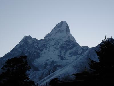 タンボチェ アマダブラム 雪山