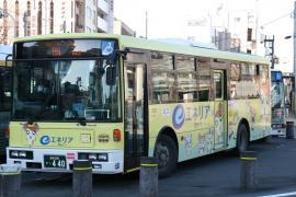 富士7E 富士バス ハム太郎ラッピング