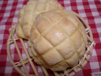 20091212メロンパン