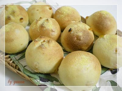 F20100725レーズン酵母のコーンパン