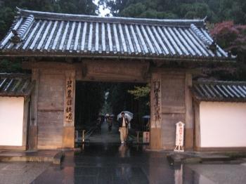 雨の瑞巌寺