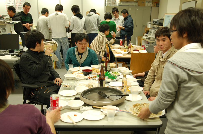 餃子Party