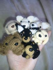 編みぐるみ達