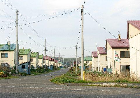 芦別の炭鉱住宅