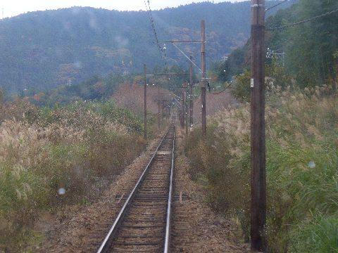 大井川鐵道の線路