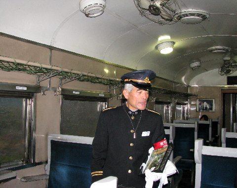 SL客車車内