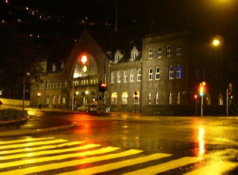 ベルゲン駅外観