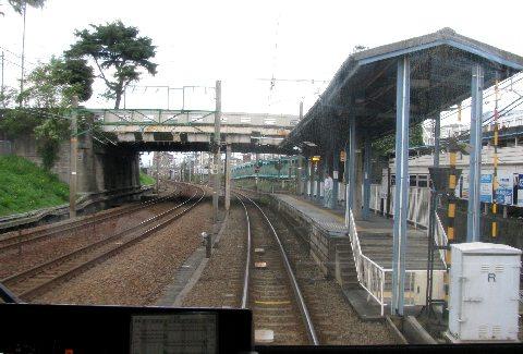狐ケ崎~入江岡の、JRと併走する区間