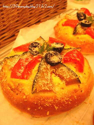 お野菜のパン。