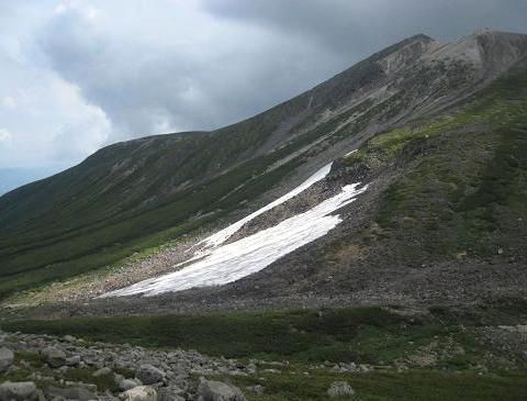 乗鞍岳雪渓 263