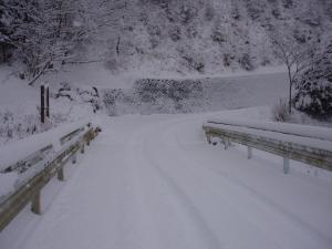 林道 スノーロード