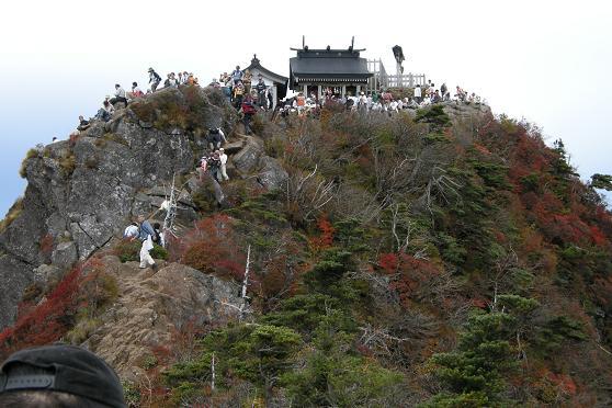 z山頂石鎚神社
