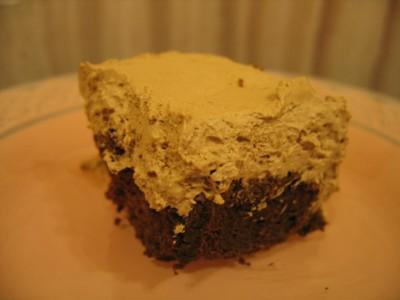 禁断のダブル生チョコケーキ