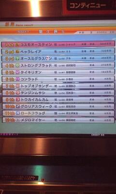 レースジャック@関ヶ原S結果