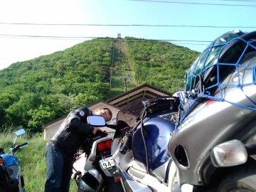 榛名富士を望む