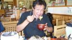 開田高原で昼食