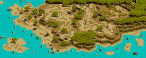 STAGE1スモーキー諸島 地上戦