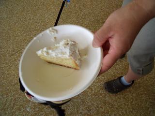 空羅ケーキありがとう!2個目
