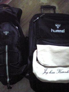 ヒュンメルバッグ。