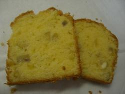 マロンパウンドケーキ カット