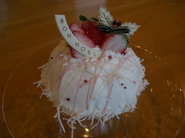 2009クリスマスケーキ1