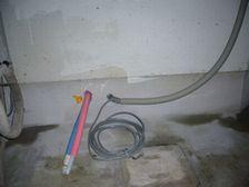 台所邸 エコ配管