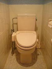 台所邸 旧トイレ