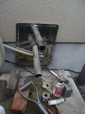 A様邸 旧追い炊き配管