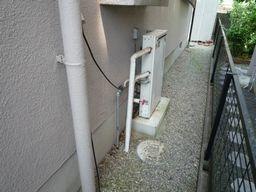 T様邸 ガス給湯器