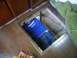K様邸 床下点検口2