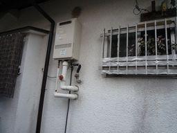 M様邸 ガス給湯器2
