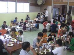 合宿2010朝食