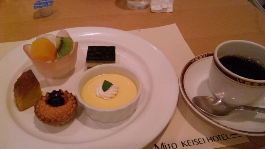 京成デザートとコーヒー