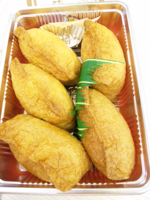 稲荷神社の稲荷寿司
