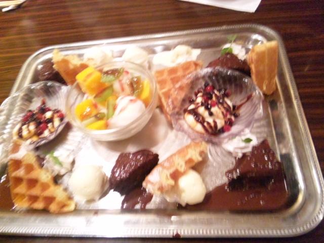 デザート盛り