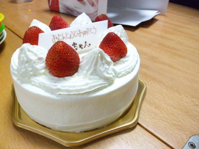 100920ケーキ