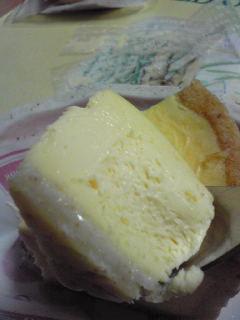 チーズケーキUp