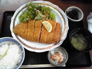 魚康とろカツ定食