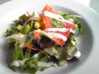 aquaサラダ
