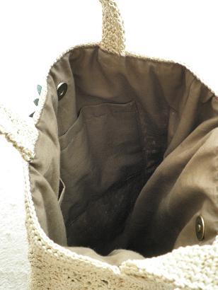 松編みバッグ3
