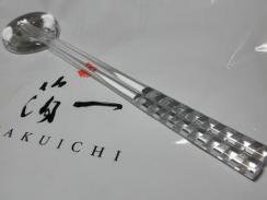 tomokoさんにいただいた箔一のお箸と箸置