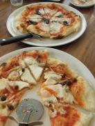 銀の森カフェ ランチピザ