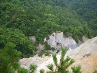 断崖絶壁 白神山地