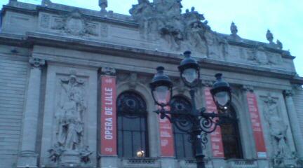 Lille オペラハウス。
