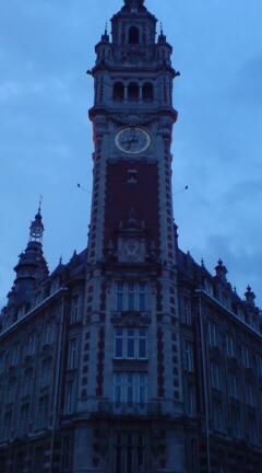 Lille 時計塔。