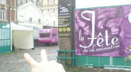 Lilleの現場。