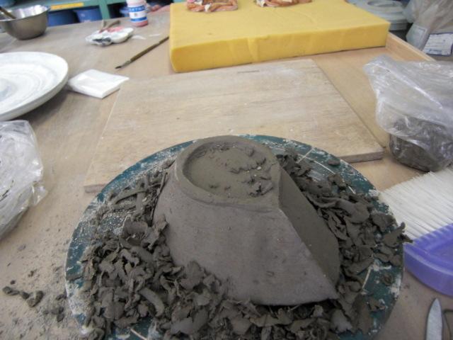 2009.9.8陶芸削り3